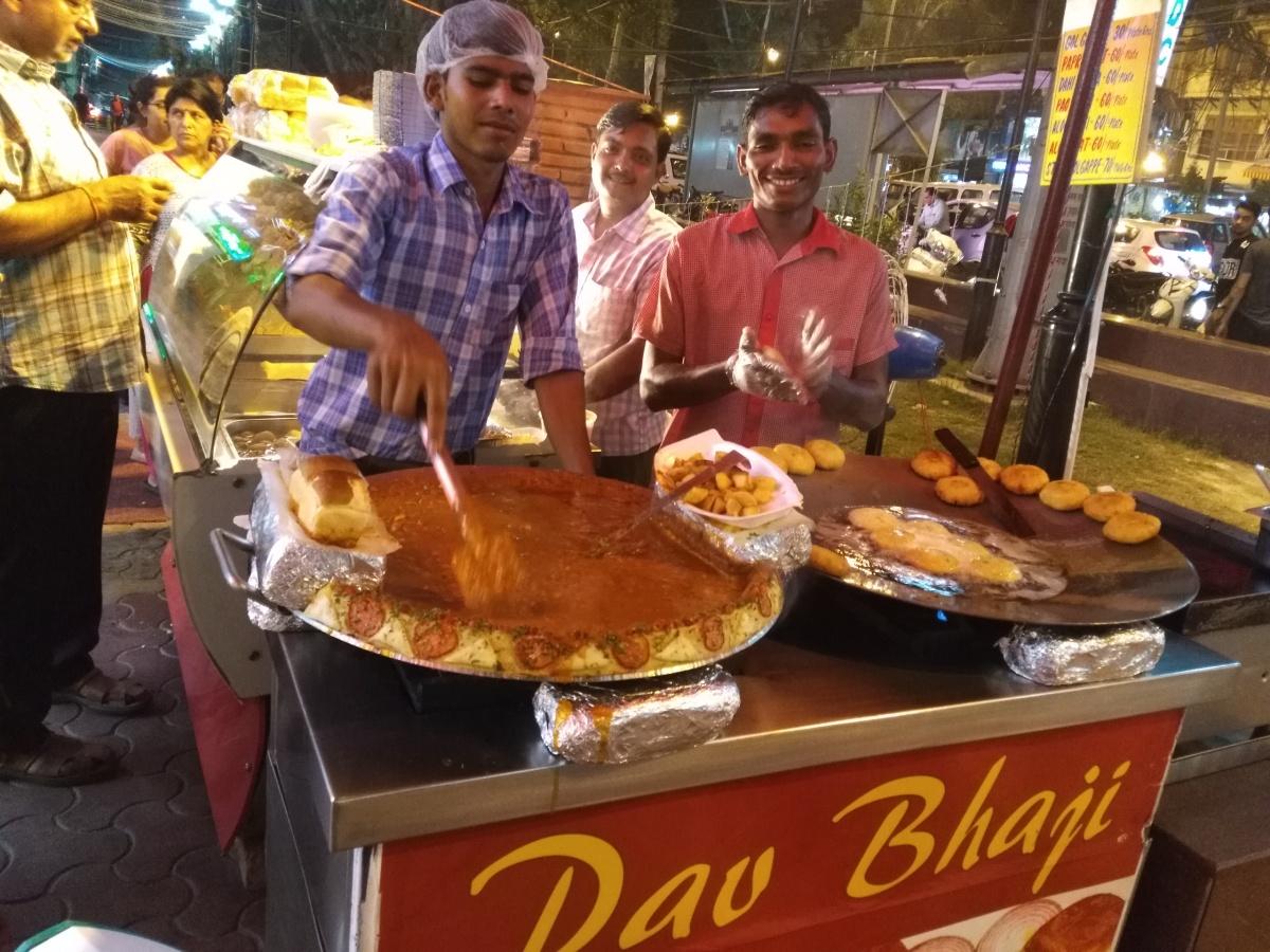 Street eats in Delhi